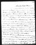 Miss Tyler, 1810,  (Item),  (from Papers of Captain Matthew Flinders  / Correspondence of Matthew Flinders  (NMM FLI) / Personal letters from English correspondents received by Flinders, arranged alphabetically by name of writer  (FLI 1))