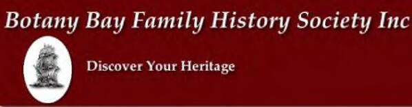 Botany Bay Family History Society