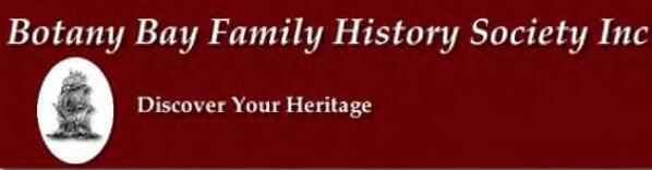 Botany Bay Family History Society