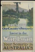 Preserve our country's prosperity : invest in the war loan : your security is Australia's