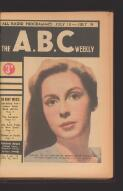 """Ruth Park Veils Why She Created """"STUMPY."""" A.B.C.'S ABSORBING NEW SERIAL (12 July 1947)"""