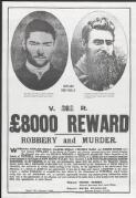 [Wanted poster, offering a reward for information leading to the capture of the Kelly gang]