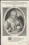 In effigiem Theodori de Bry Leodien, sculptoris praestantissimi