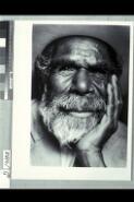 Portrait of Paddy Carroll Tjungurrayi / Jacqueline Mitelman