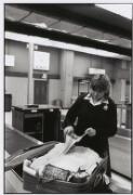 Customs officer, Tullamarine airport, Melbourne, 1985 / Ruth Maddison