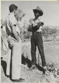 An Aboriginal man attached to the Maranboy Police Station, Maranboy, Northern Territory, 1954 / N. Murray