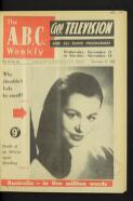 A.B.C. radio plays for the week (26 February 1958)