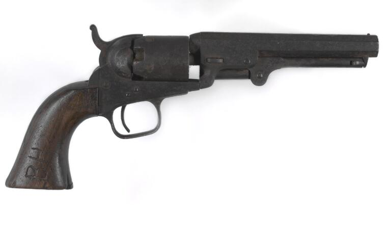 Colt's Patent Firearms Manufacturing Company. [Ben Hall's revolver] [realia]