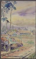 Harrison, J. N. D. (John Noel Douglas), 1911-1980. [Buildings at Changi POW camp, Changi, 1942-1945] [picture] /