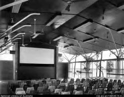 Interior of the cinema building located at Rocky Point