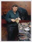Fred Williams, Melbourne, 1981 / Rennie Ellis