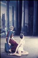 John Auld (left) and Garth Welch in Symphonie fantastique, Borovansky Ballet, 1955 / Walter Stringer