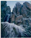 Dombrovskis, Peter, 1945-1996. Icicles, Organ Pipes, Mount Wellington, Tasmania, 1990 [picture] /
