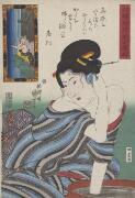 880-01 Utagawa, Kuniyoshi, 1798-1861, artist. Daigan joju arigatakishima [picture]. Oimatsu.