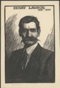 Portrait of Henry Lawson, 1919 / Lionel Lindsay