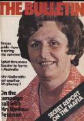 Bulletin WORLD IN FOCUS GALBRAITH DEBUNKED (1 October 1977)