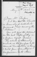 Agnes Craig to Chesson, 12 May 1876, (Item 160),  (from British and Foreign Anti-Slavery and Aborigines' Protection Society  / Committee on Slavery and the British and Foreign Anti-Slavery Society  (MSS Brit Emp. S 18) / Aborigines Protection Society  (C122-67) / F.W. Chesson  (C123-49))