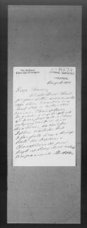Henry Ridley (Botanic Gardens, Singapore), 16 August 1911,  (File A230),  (from Collections held by the Glasgow University Archives and Business Record Centre  / Professor Frederick Orpen Bower  (DC 002) / Correspondence between Bower and colleagues worldwide )