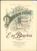 Dors, mon enfant : berceuse for piano / by E. de Beaupuis