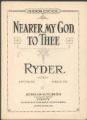 Nearer my God to thee fantaisie / [by] T. P. Ryder