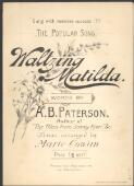 Music resources theme - Waltzing Matilda
