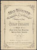 Self-deceived, or, Six degrees of intemperance / composed & sung by Philip Phillips