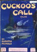 Cuckoo's call valse / Horatio Nicholls