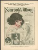 Somebody's wrong by Henry I. Marshall, Raymond Egan [and] Richard Whiting
