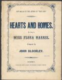 Hearts & homes : ballad / written by Charlotte Young ; composed by John Blockley