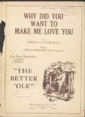 Why did you want to make me love you Reginald A.A. Stoneham