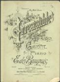 Irresistible : gavotte for piano / by E. de Beaupuis