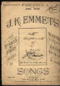 J.K. Emmet's songs