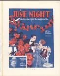 June night (Just give me a June night, the moonlight and you) / lyric by Cliff Friend ; music by Abel Baer
