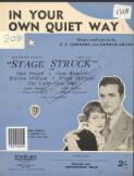 In your own quiet way words by E.Y Harburg ; music by Harold Arlen