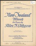 New Zealand march for piano / by Alex. F. Lithgow