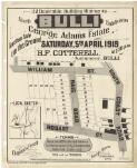32 desirable building allotments Bulli fourth subdivision, George Adams Estate : auction sale on the ground Saturday, 5th April 1919, at 2.30 p.m. / H. F. Cotterell auctioneer, Bulli