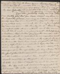 Letter from Jane Austen to her sister Cassandra
