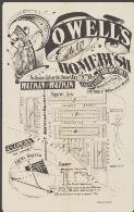 Powell's Estate, Homebush : for auction sale on the ground Satdy. 9th Oct. 1886 at 3 p.m. / Watkin & Watkin ; vendors The Excelsior Land Investment & Building Co. and Bank Limited, 171 York St. William Jarrett, manager ; Whitelocke draftsman