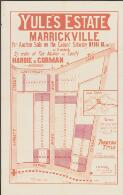 Yule's Estate, Marrickville / for auction sale on the ground, Saturday, March 16, 1901, at 3 o'clock, by order of the master in equity ; Hardie & Gorman, auctioneers
