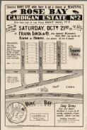 Rose Bay, Cardigan estate no. 2 / for auction sale on the ground, Saturday, Octr. 21st 1911 at 3 p.m. by Frank Lock & Co., real property merchants [and] Raine & Horne, city agents