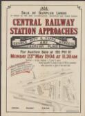 Central Railway Station approaches, George, Pitt & Gipps Streets and Rawson Place : for auction sale at 133 Pitt St., Monday 23rd May 1904 at 11.20 a.m. / auctioneers, Messrs. Hardie & Gorman, Richardson & Wrench, Ltd., Batt, Rodd, & Purves, Ltd