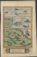 Jode, Cornelis de, 1568-1600. Novae Guineae forma, & situs [cartographic material]. - Part 1