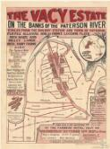 The Vacy Estate on the banks of the Paterson River ... for sale by auction ... 12th October, 1927 / King & Humphery and Carr Bros., auctioneers in conjunction ; C. W. B. King, surveyor
