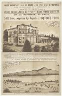 Most important sale of farm land ever held in Victoria, by order of the trustees of the will of the late John Robertson, Esq. ..