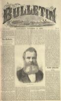 HOW WE EDITED THE TINTOWN TOMAHAWK. (FOR THE BULLETIN.) (13 October 1883)