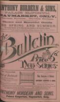 SPORTING AND ATHLETIC MEMS. (22 November 1884)