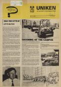 STAFFING NEWS (5 April 1976)