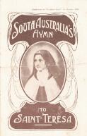 South Australia's hymn to Saint Teresa