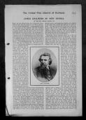Reverend George Robson. 'James Chalmers of New Guinea'. The Missionary Record of the United Church of Scotland,  (File),  (from Records of the London Missionary Society  / Papua, odds )