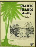 Pacific islands monthly : PIM. Vol. VIII, No. 1 ( ...